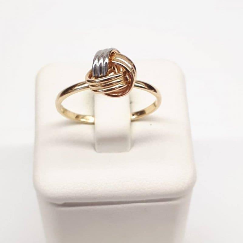 Złoty pierścionek SUPEŁEK